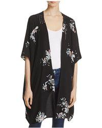 Roffe Accessories - Floral Kimono - Lyst