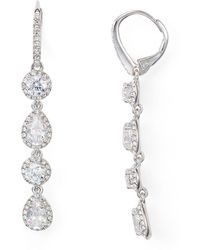 Nadri - Leverback Earrings - Lyst