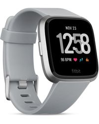 Fitbit - Versatm Grey Touchscreen Smart Watch 39mm - Lyst