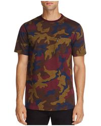 Wesc - Maxwell Multicolored Camouflage Short Sleeve Tee - Lyst