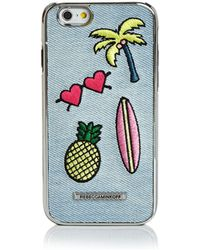 Rebecca Minkoff - Luxe Double Up California Icon Patch Iphone 7 Case - Lyst