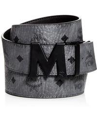 MCM - Claus Matte Logo Buckle Reversible Belt - Lyst