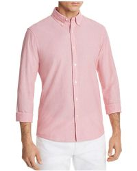 Michael Kors - Seersucker Slim Fit Button-down Shirt - Lyst