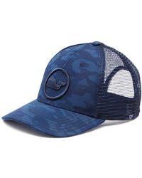 99d9d308de505 Vineyard Vines - Camouflage Trucker Hat - Lyst