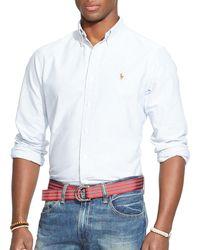 Polo Ralph Lauren - Multi - Striped Oxford Shirt - Classic Fit - Lyst