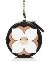 Etienne Aigner | Round Leather Coin Case | Lyst