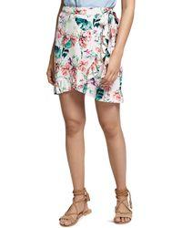 Sanctuary - Tropicana Ruffled Wrap Skirt - Lyst