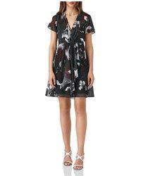 Reiss - Kate Floral Mini Dress - Lyst
