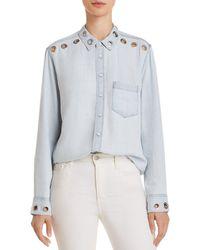 DL1961 - Nassau & Manhattan Chambray Shirt - Lyst