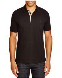 Burberry - Regular Fit Polo Shirt - Lyst
