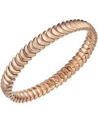 Chimento - 18k Rose Gold Armillas Collection Ridge Curve Bracelet - Lyst