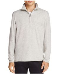 Billy Reid - Jordan Half-zip Top - Lyst