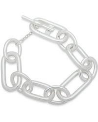 Ralph Lauren - Lauren Toggle Closure Link Bracelet - Lyst