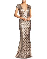 Dress the Population - Lina Star Sequin Mermaid Gown - Lyst