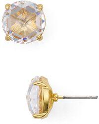 Kate Spade - Circle Stud Earrings - Lyst