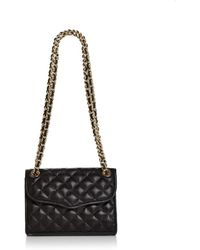 Rebecca Minkoff - Quilted Affair Mini Leather Shoulder Bag - Lyst