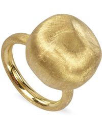 "Marco Bicego - Large 18k Yellow Gold ""africa Gold"" Ring - Lyst"