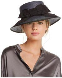 Helene Berman - Audrey Paper Hat - Lyst