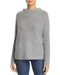 C By Bloomingdale's - Oversized Funnel-neck Cashmere Jumper - Lyst