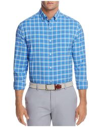 Vineyard Vines - Blue Heron Plaid Classic Fit Button-down Shirt - Lyst