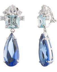 Carolee - Pear Drop Earrings - Lyst