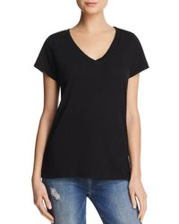 Velvet By Graham & Spencer - Jilian V-neck Tee - Lyst