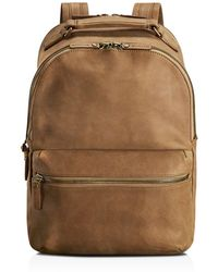 Shinola - Outrigger Leather Runwell Backpack - Lyst