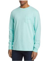 Vineyard Vines - Whale Graphic Long Sleeve Pocket Tee - Lyst