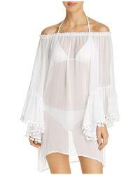 Bleu Rod Beattie - Off-the-shoulder Dress Swim Cover-up - Lyst