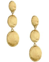 Marco Bicego - 18k Yellow Gold Siviglia Drop Earrings - Lyst