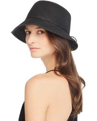 August Hat Company - Bow Detail Cloche - Lyst