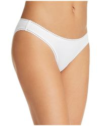 On Gossamer - Cabana Stretch Cotton Bikini - Lyst