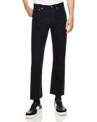 Sandro - Straight-leg Ankle-length Jeans In Black - Lyst