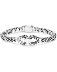 Lagos - Sterling Silver Derby Caviar Bracelet - Lyst