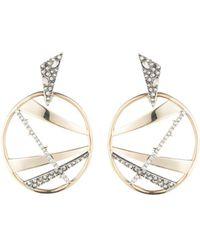 Alexis Bittar - Crystal Embellished Dangling Drop Earrings - Lyst