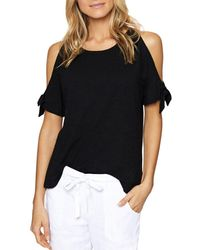Sanctuary - Lou-lou Cold-shoulder Top - Lyst