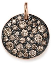 Pomellato - Sabbia Pendant With Brown Diamonds In 18k Rose Gold - Lyst