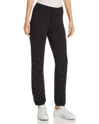 Marc New York - Performance Faux-pearl Embellished Joggers - Lyst