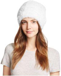 Maximilian - Knit Mink Fur Hat - Lyst
