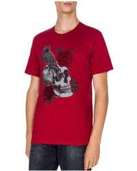 The Kooples - Skull & Crow Tee - Lyst