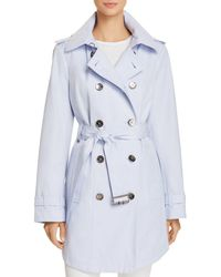 Calvin Klein - Hooded Trench Coat - Lyst