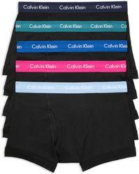 Calvin Klein - Trunks - Pack Of 5 - Lyst
