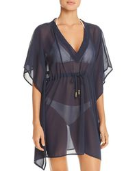 Echo - Solid Classic Butterfly Swim Cover-up - Lyst