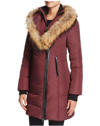 Mackage - Kay Lavish Fur Trim Down Coat - Lyst