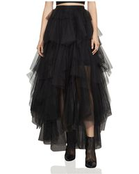 BCBGMAXAZRIA - Camber Tiered Tulle Maxi Skirt - Lyst
