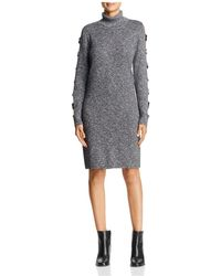 Love Scarlett | Ladder Cutout Sleeve Sweater Dress | Lyst