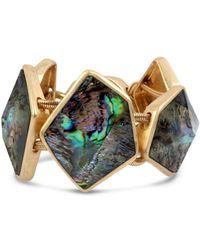 Robert Lee Morris - Geometric Abalone Stone Bracelet - Lyst