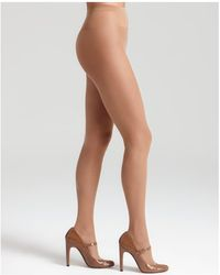 Wolford - Individual 10 Sheer Tights - Lyst