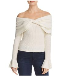 Ella Moss - Jasina Off-the-shoulder Jumper - Lyst