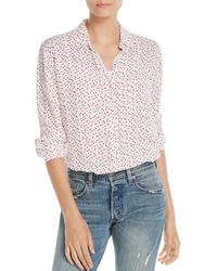 Beach Lunch Lounge - Heart Print Blouse - Lyst